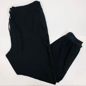 Zara Black Joggers Pants Size Xl